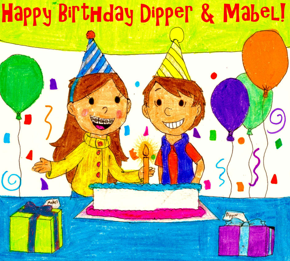 Mabel And Dippers Birthday