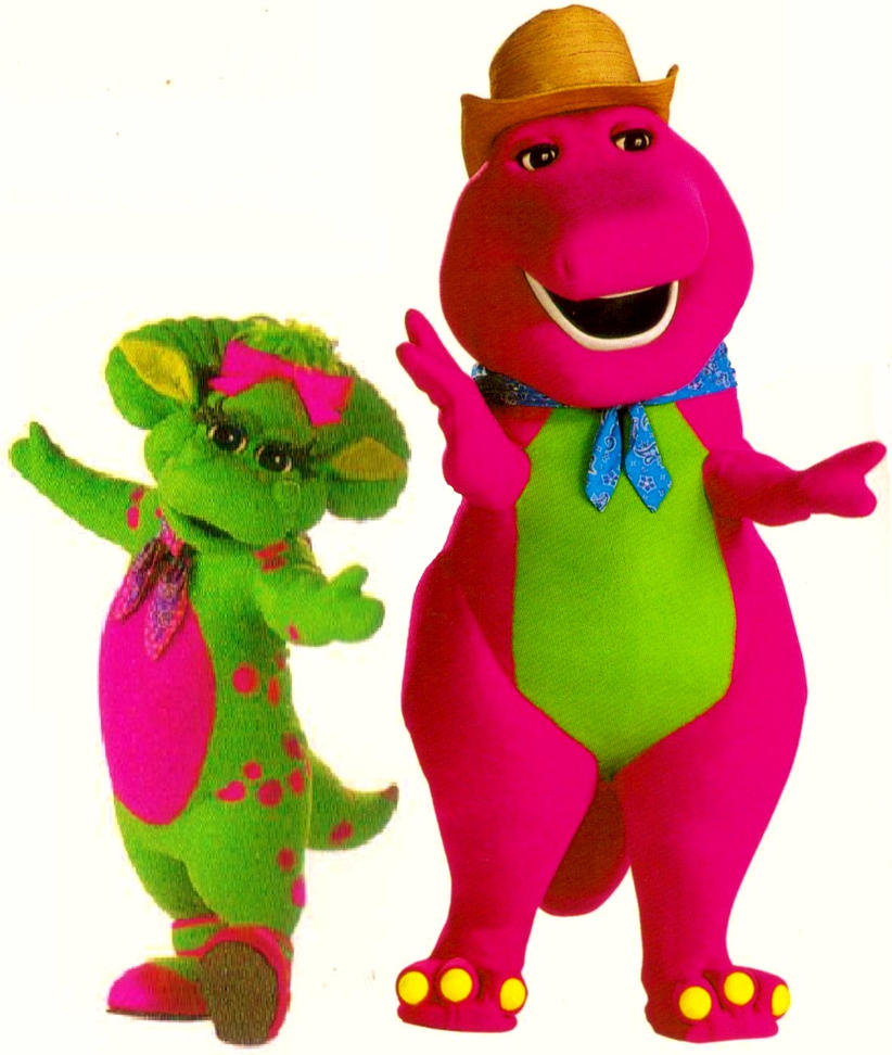 Barney and Baby Bop In Farm Clothes by BestBarneyFan on ...