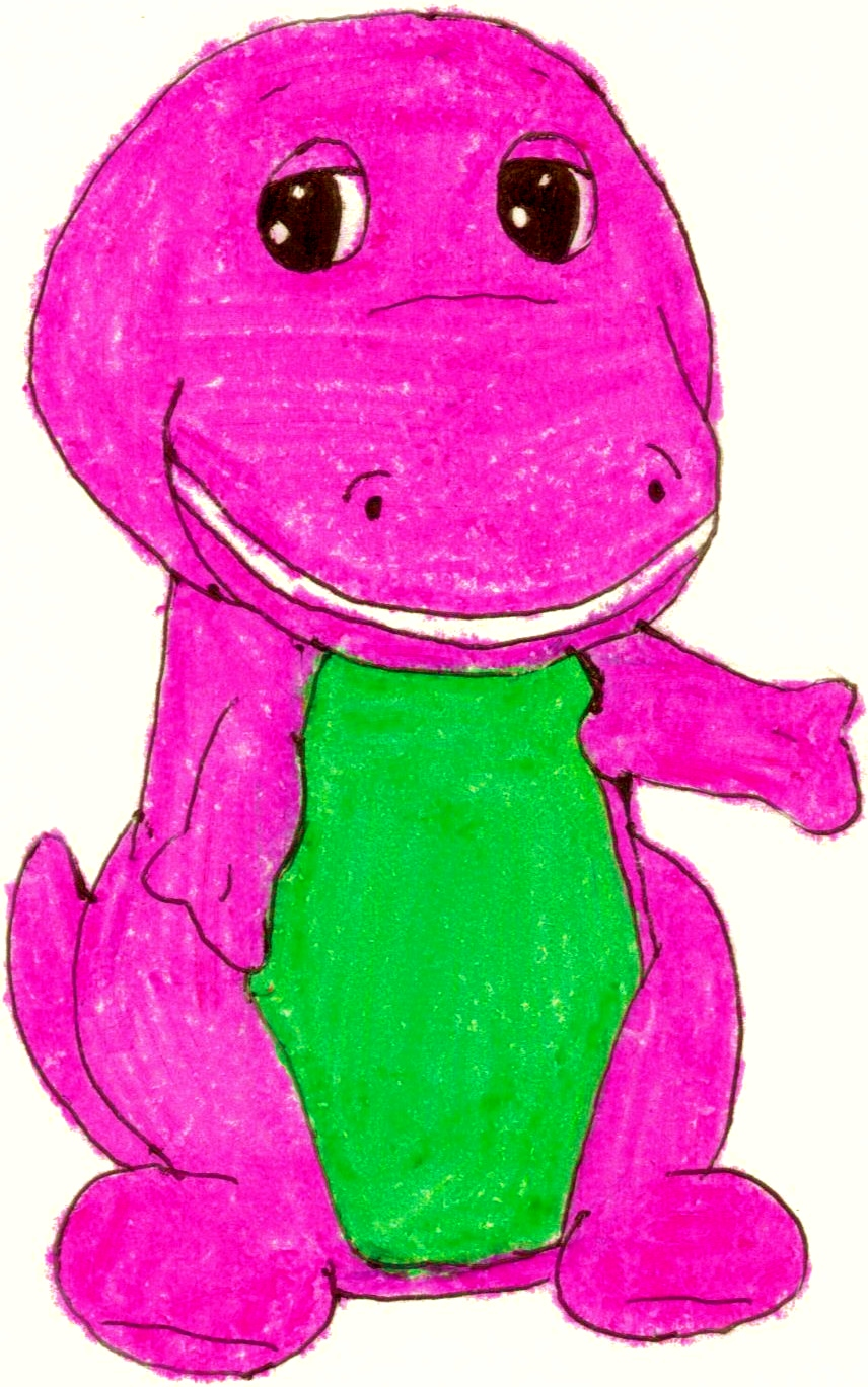 barney in his 1st look by bestbarneyfan on deviantart