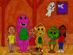 Barney and Friends With Twinken