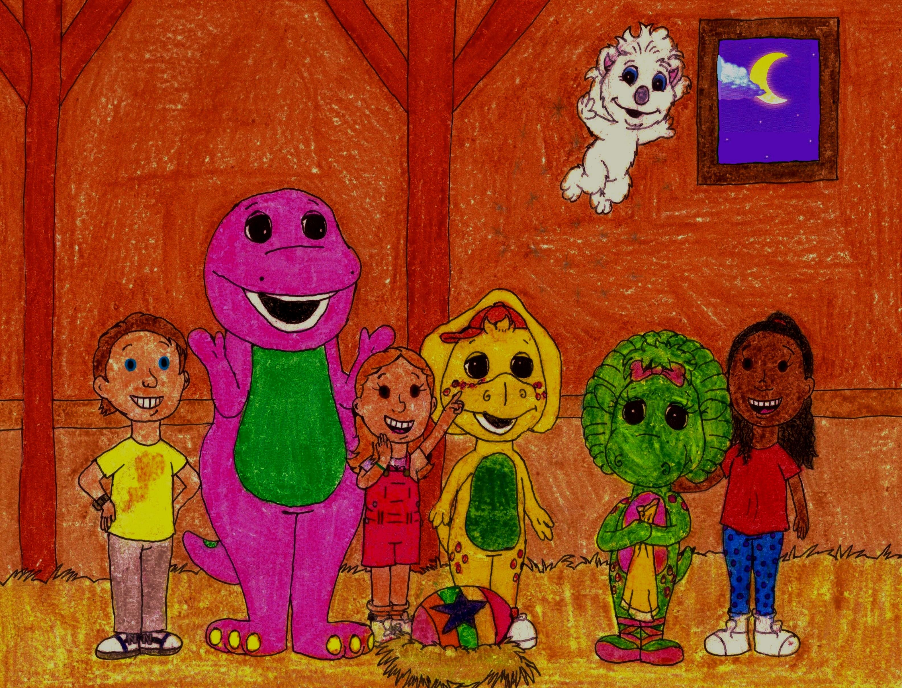 barney and friends with twinken by bestbarneyfan on deviantart