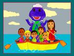 Sailing With Barney and The Backyard Gang