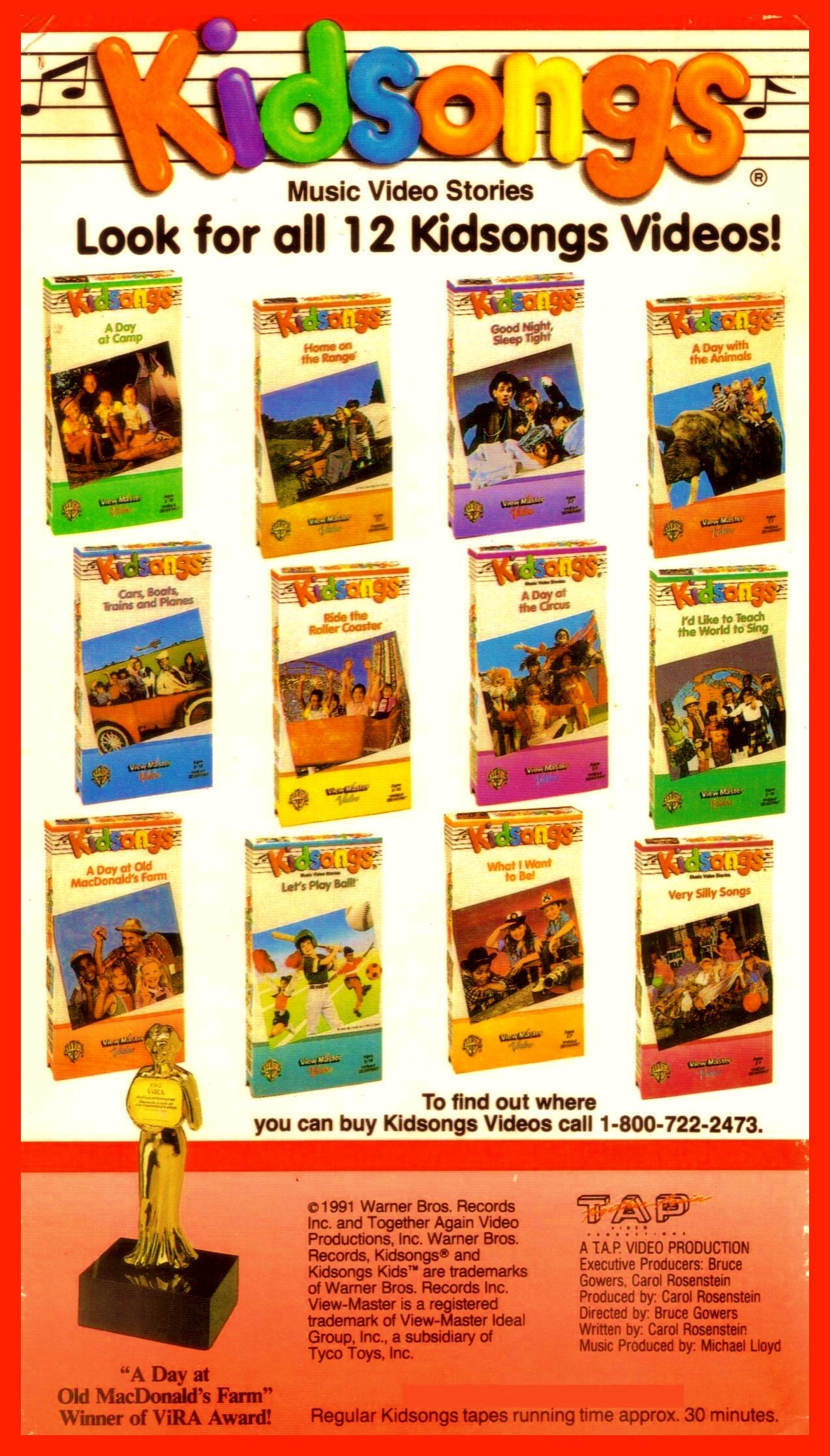 Kidsongs A Day At The Circus Vhs Pictures to Pin on ...