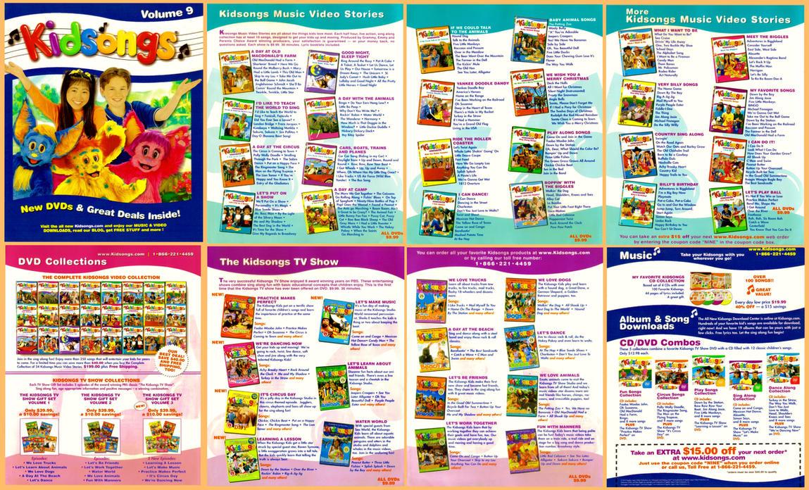 Kidsongs Catalog 2010 By Bestbarneyfan On Deviantart