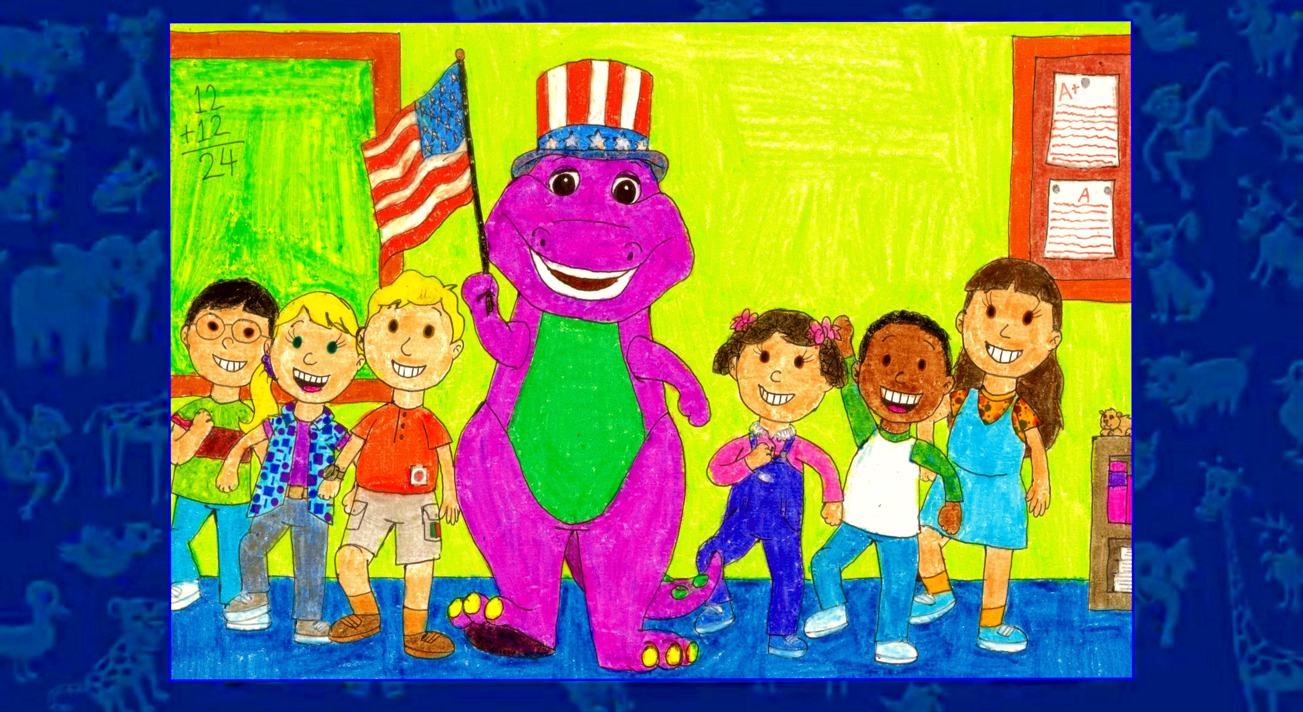 Barney Goes To School by BestBarneyFan on DeviantArt