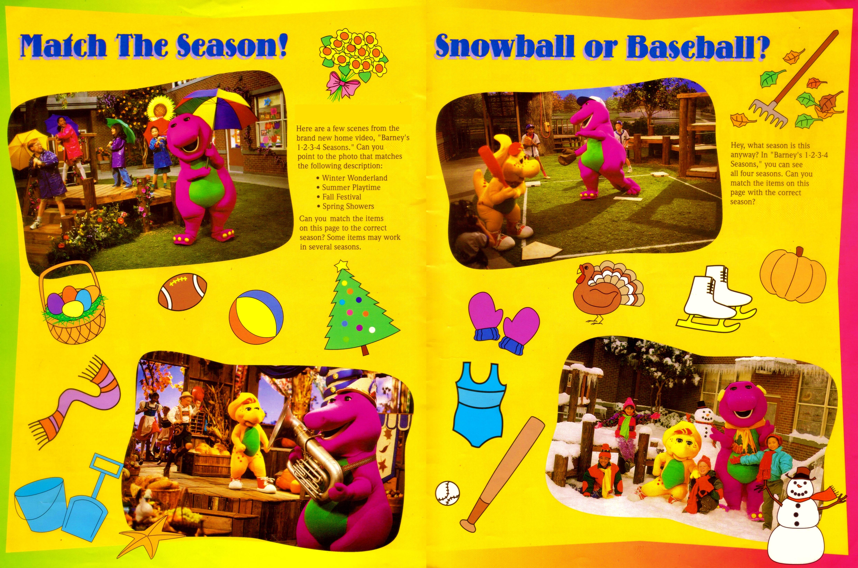 Barney's 1-2-3-4 Sea