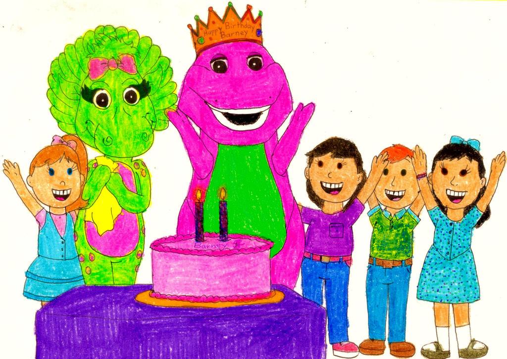 happy birthday barney by bestbarneyfan on deviantart