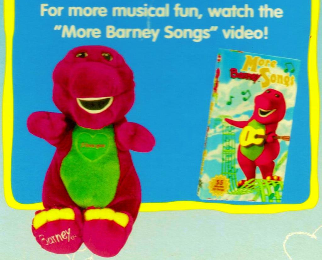 More Barney Songs Promo Ad by BestBarneyFan on DeviantArt