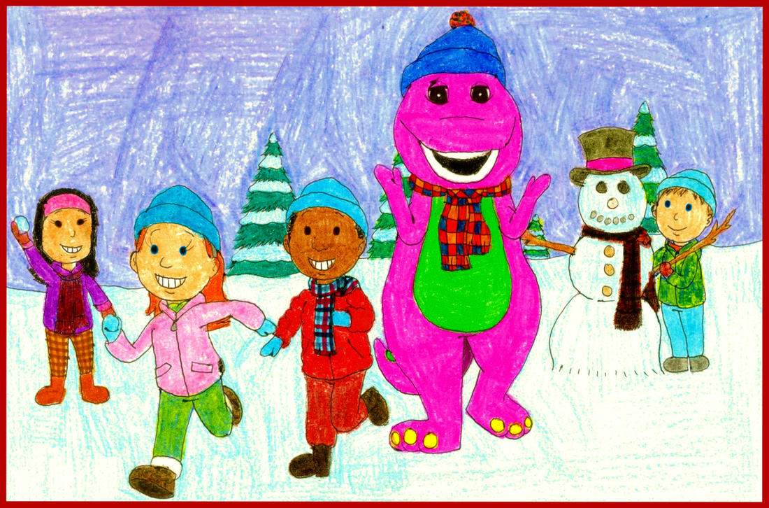Barney\'s Winter Fun by BestBarneyFan on DeviantArt