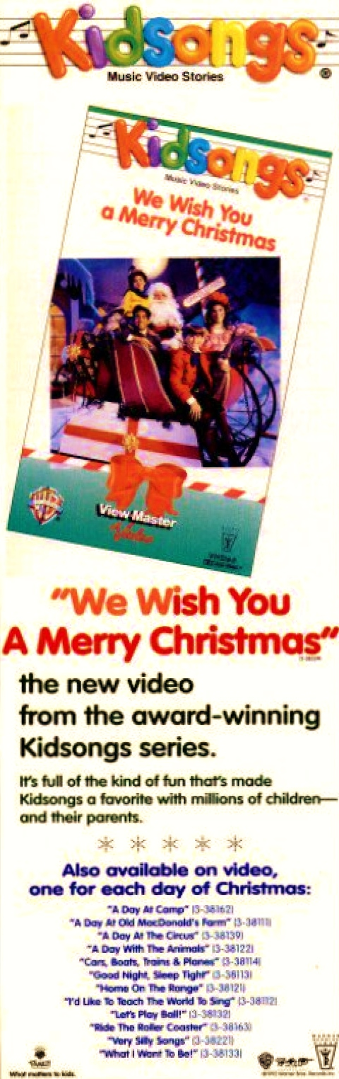 Kidsongs We Wish You A Merry Christmas Promo Ad by BestBarneyFan on ...