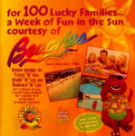 Barney Beaches and Toys R Us Promo Ad