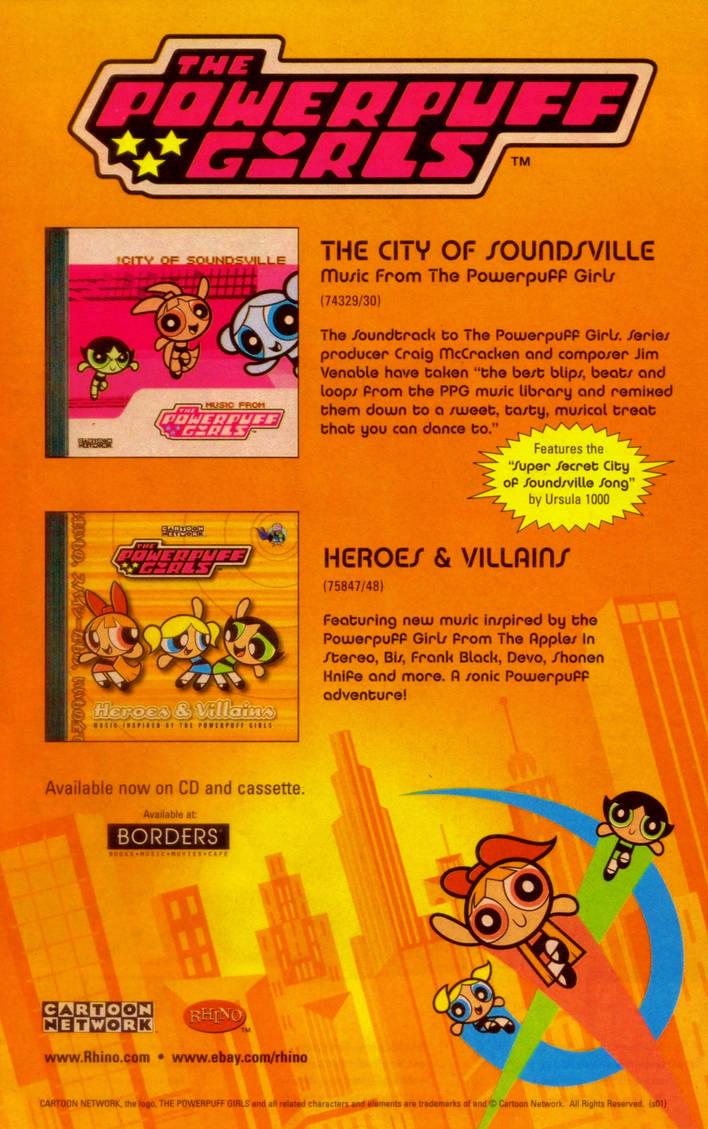 The Powerpuff Girls Audio Music Promo Ad by BestBarneyFan on