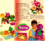 Barney Products (Holiday 1996)
