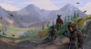 Mountain Side explorers by grecoarellano