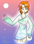 Artistic Skies Kimono