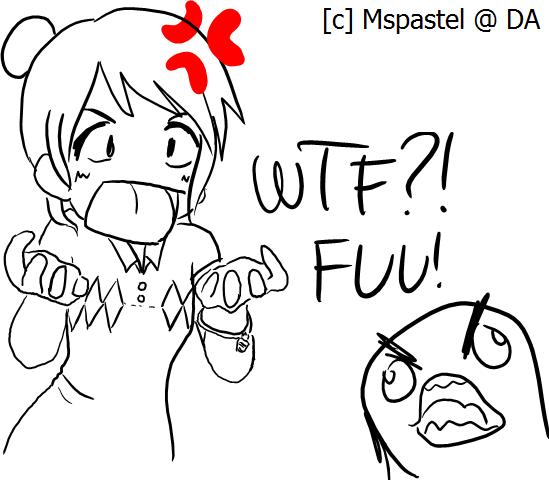 FFFFUUUUU my life by MsPastel