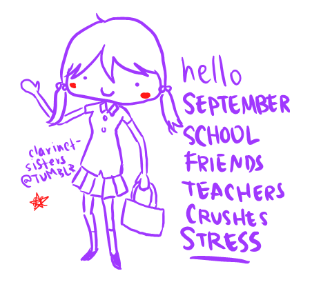 hello september by MsPastel