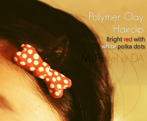 Polymer Clay Hairclip 2