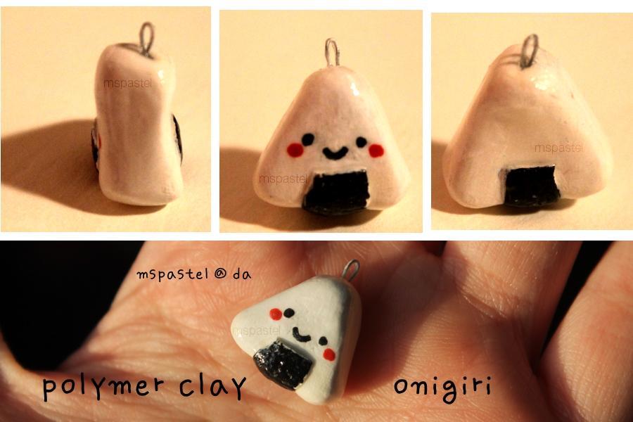 Polymer Clay Onigiri