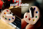 Polymer Clay Paint Palette