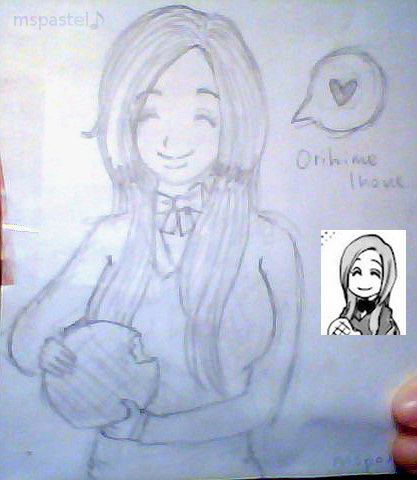 Orihime with Melon Pan