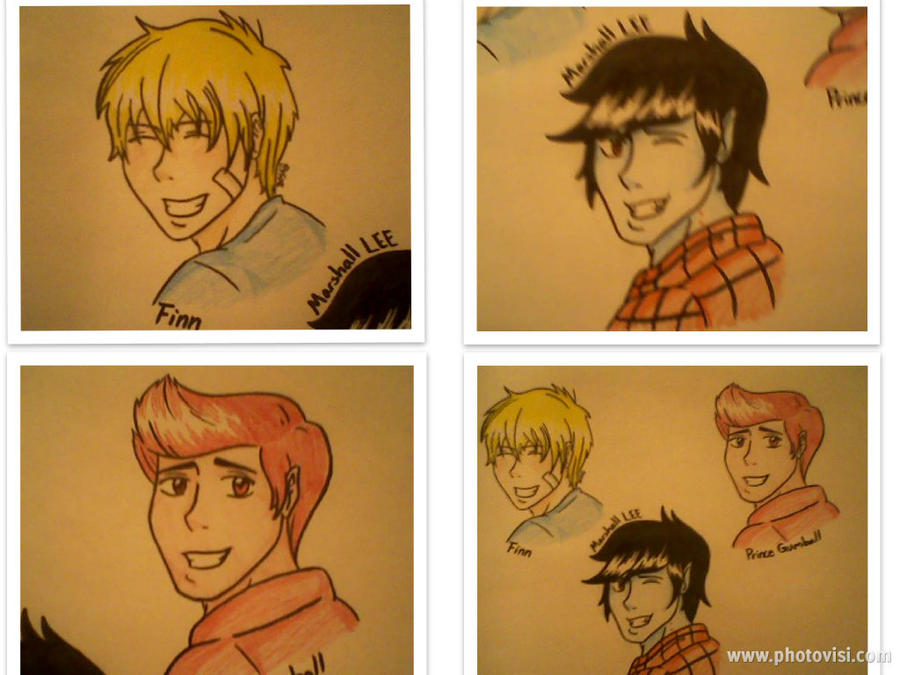 Adventure Time boys by avatardestiny722
