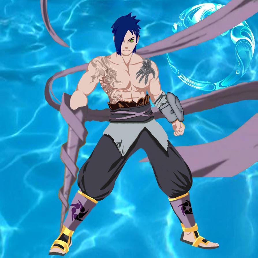 Zendokiri the cloth ninja by Zamizubuki-Zendokiri