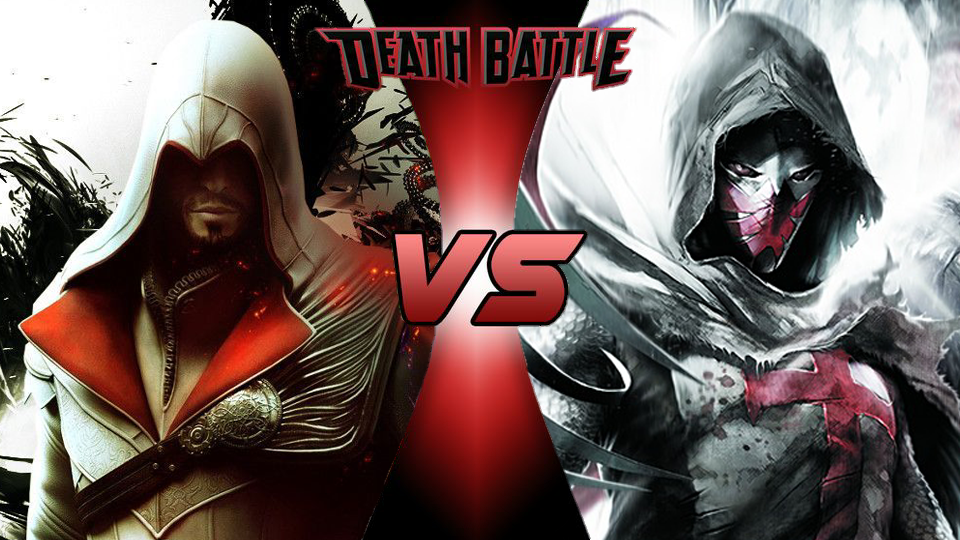 ezio vs big The central leads of two different franchises, who seek to bring an end to a corrupted group, while performing their heroic deeds outside of the law, ar ezio auditore vs zorro.