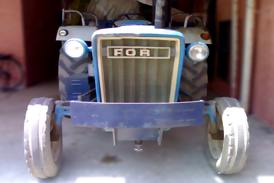 Old FORD Tractor From Punjab By Rgxsingh