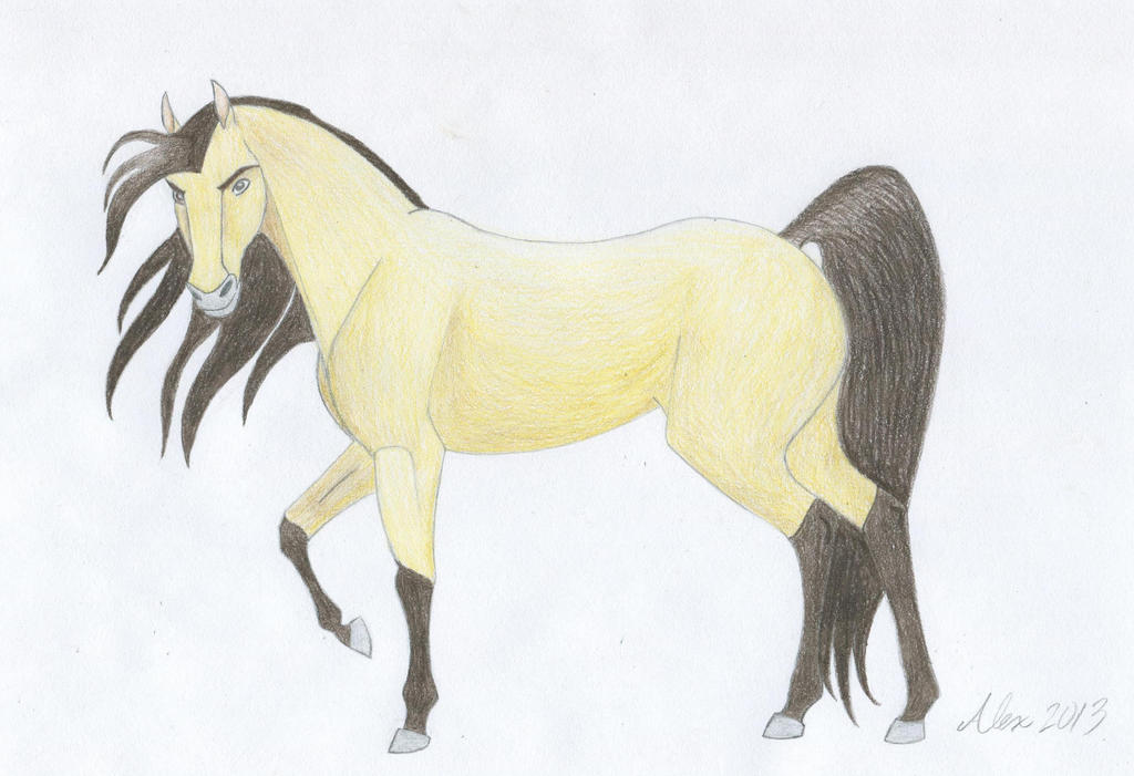Spirit : Stallion of the Cimarron by mangoonfire on DeviantArt