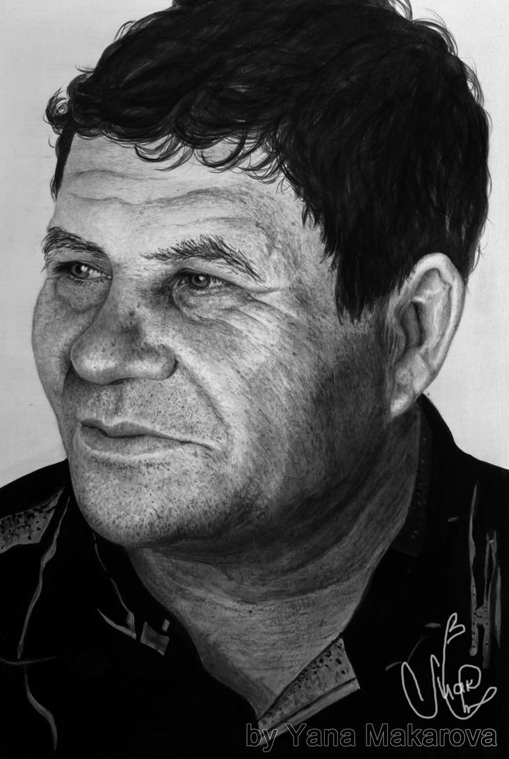 My loved grandpa by Makarova17
