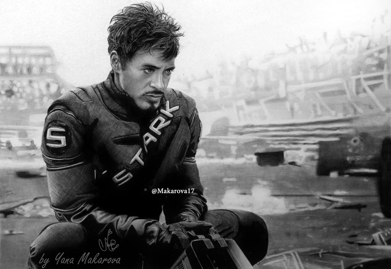 Robert Downey Jr. (Tony Stark) Iron Man by Makarova17