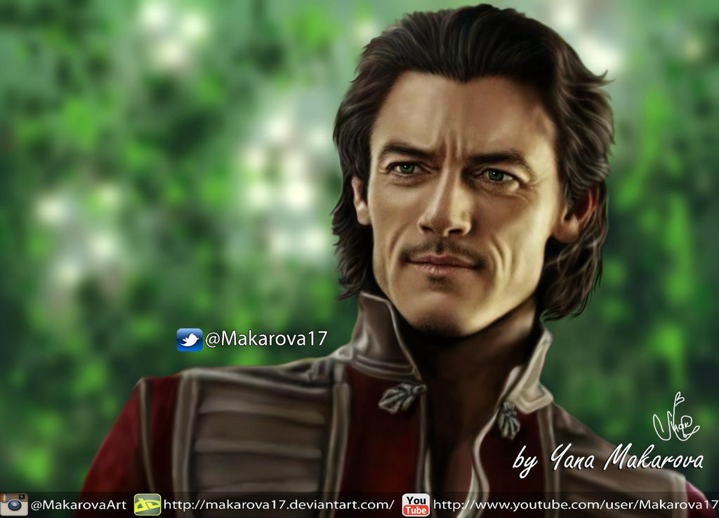 Luke Evans - Vlad Dracula Untold by Makarova17