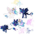 Celestia and Luna [funart]