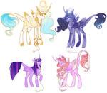 our fav princesses [fanart]