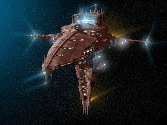 SpaceShip by zsolti65