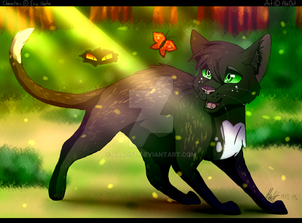 every single step warrior cats by alaost on deviantart