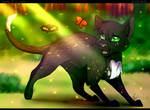 Every single step... (Warrior Cats)