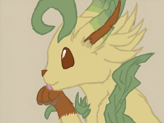 Pokemon: Shiny colored Leafeon by Link3-Bluebell12 on ...