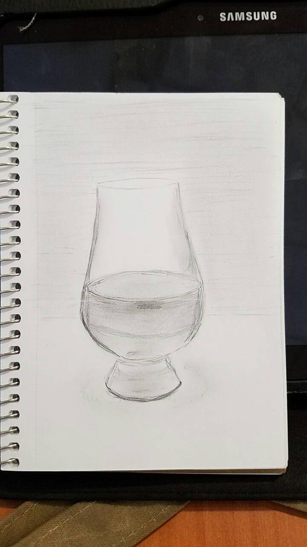 WIP - Whiskey Glass by EdwardsOtherSide