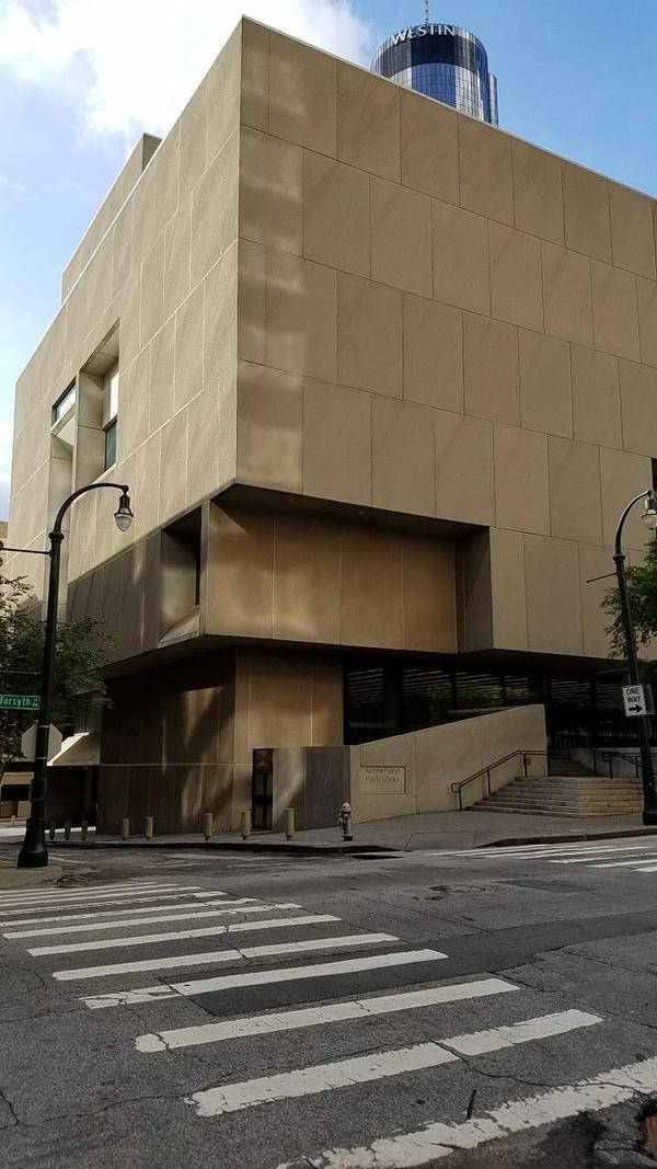 Atlanta Public Library  by EdwardsOtherSide