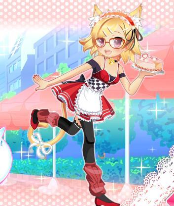 Anime Neko Chibi x3 by GeckiGewaldro