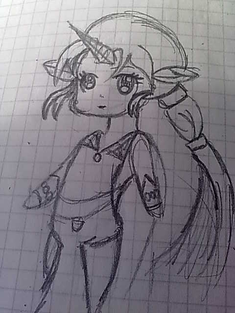 Soraka Sketch x3 by GeckiGewaldro