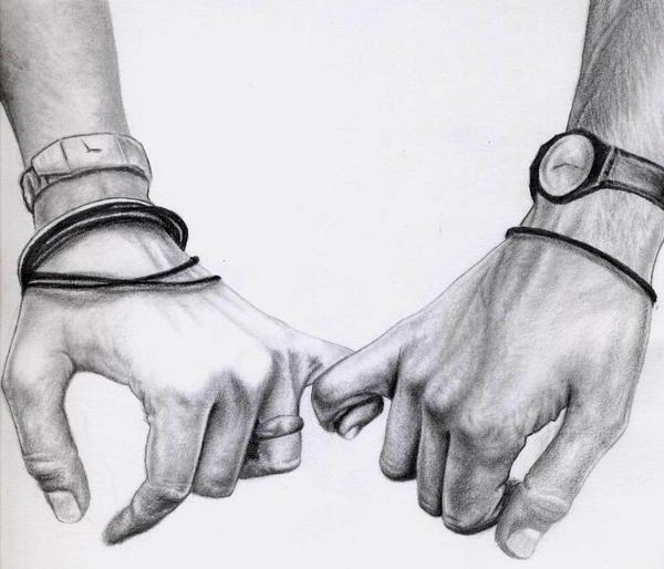 Sketch hands by elisadelatorreHolding Hands Love Sketch