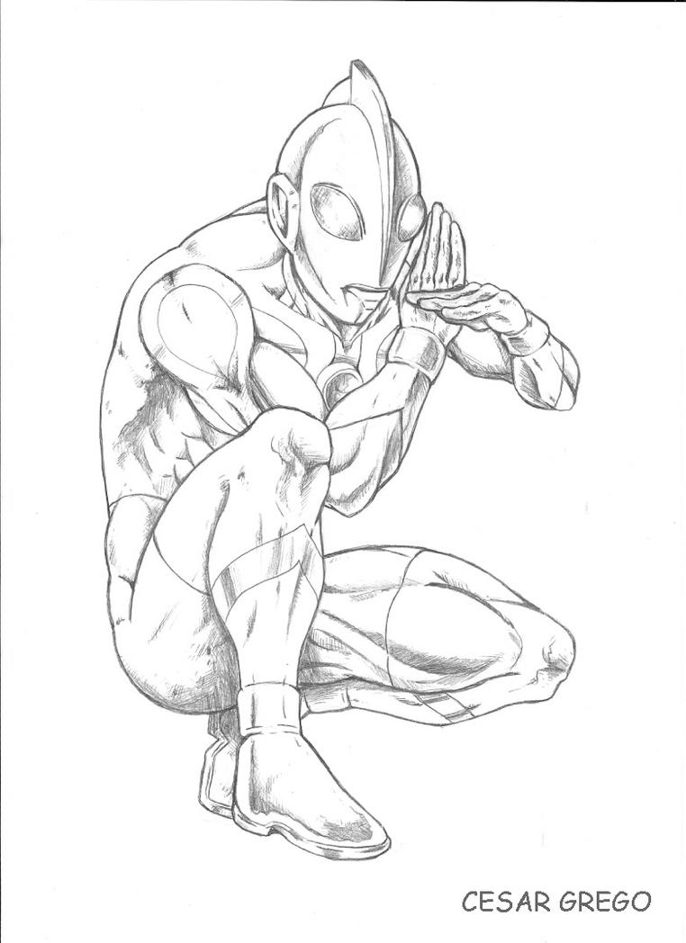 Ultraman Coloring Pages Printable Coloring Pages