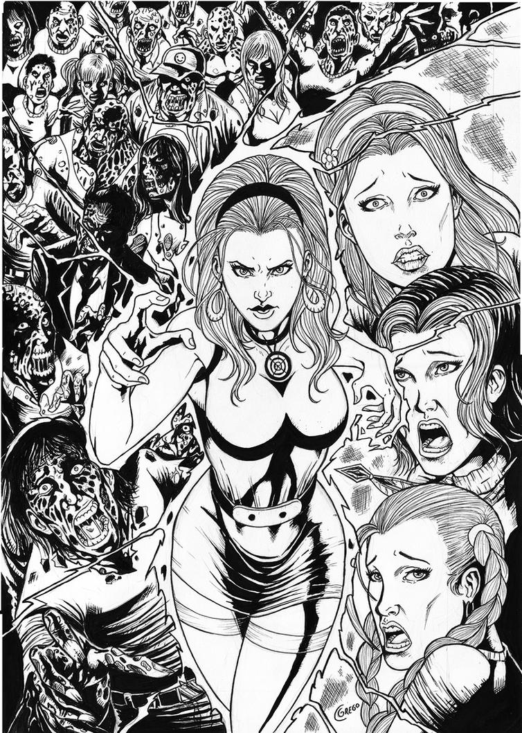 Chaos Campus Sorority Girls vs Zombies TPB 05 by gregohq