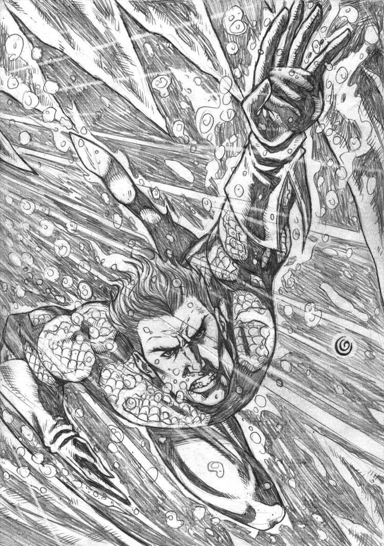 Aquaman by gregohq