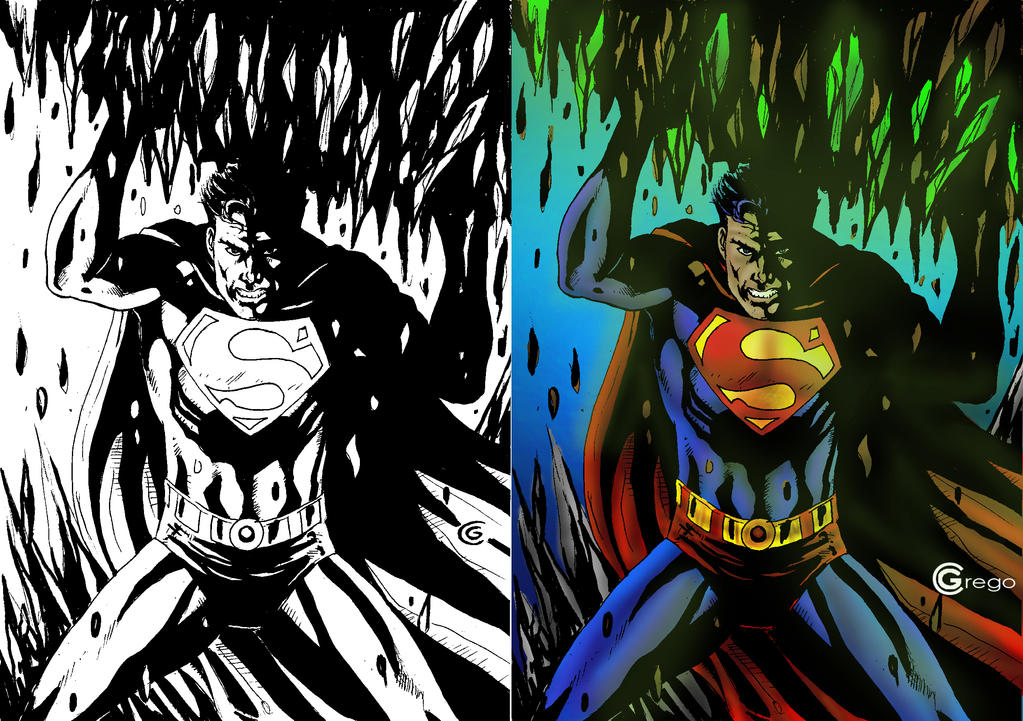 Superman by gregohq