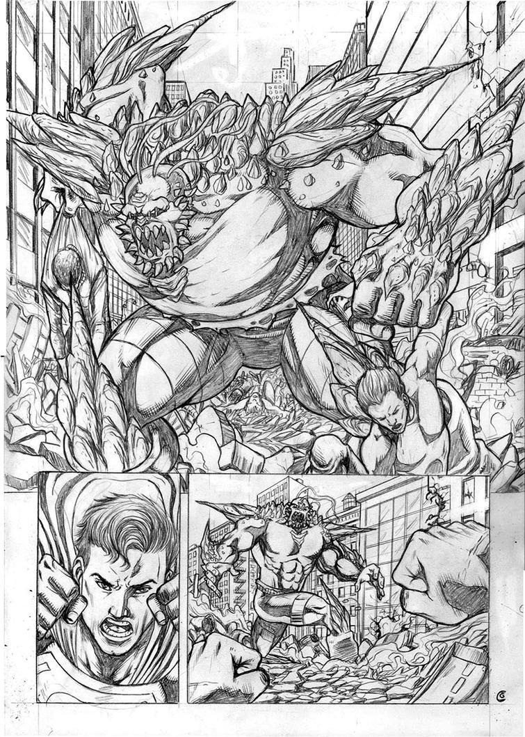 Superman Sample Pg 02 by gregohq