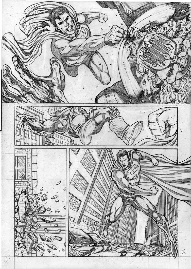 Superman Sample Pg 03 by gregohq
